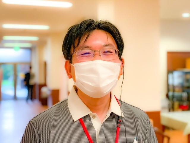すいとぴー 新横浜(介護職/ヘルパーの求人)の写真:心あたたかい施設長です♪
