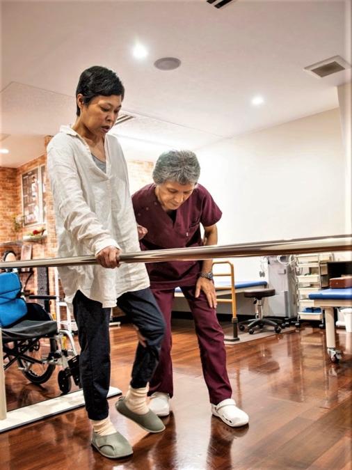 脳梗塞リハビリ回復センターの画像