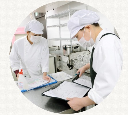 株式会社メフォス 荘病院内の厨房の画像