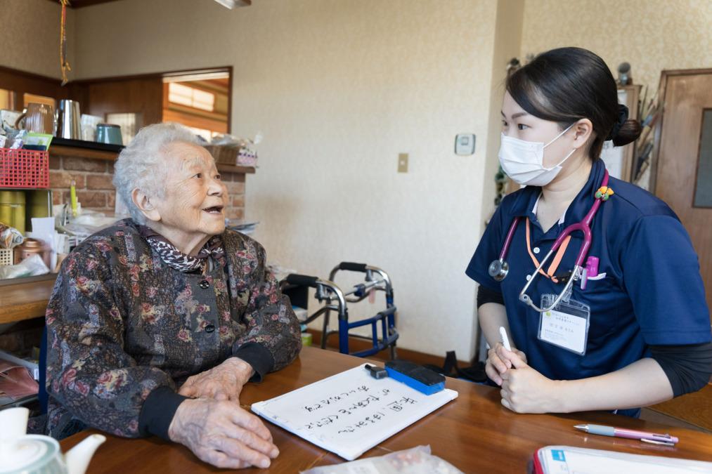 リハビリこんぱす訪問看護ステーション(看護師/准看護師の求人)の写真1枚目:看護師による訪問看護