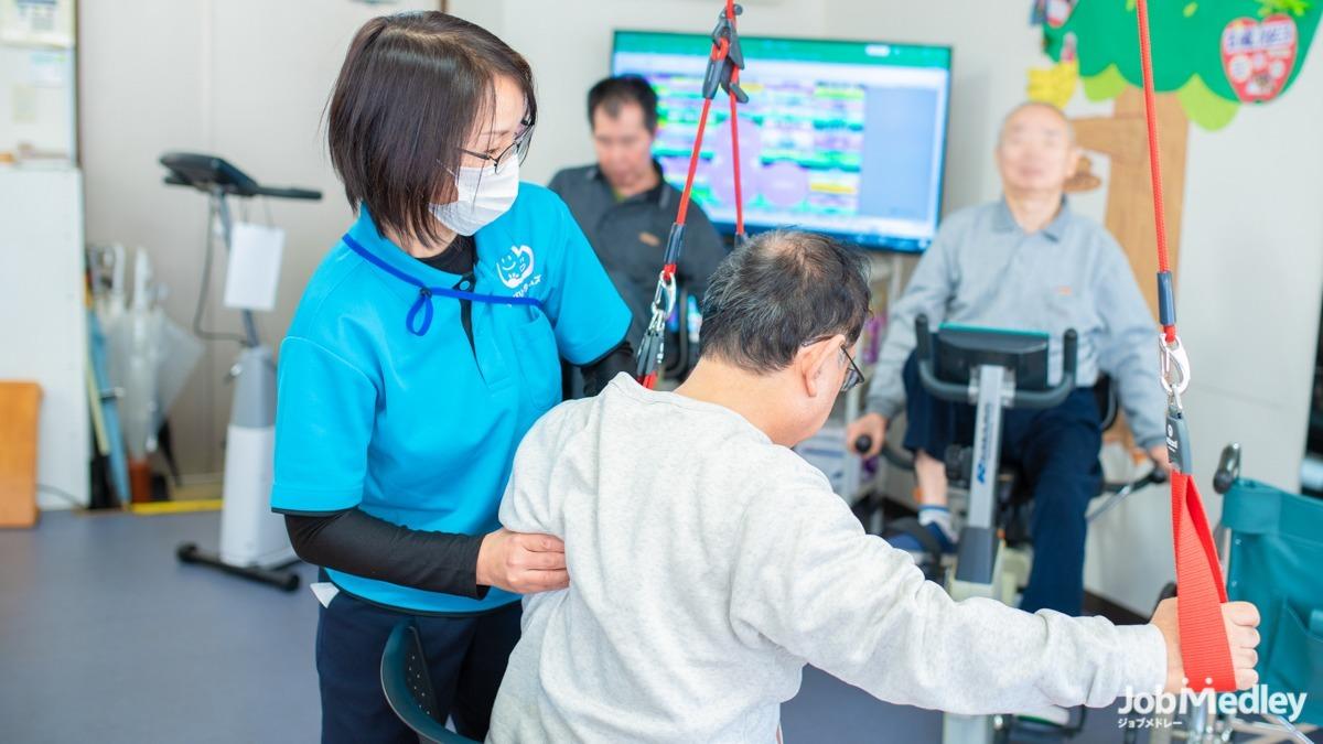 リカバリータイムズ師岡【2021年04月オープン】(理学療法士の求人)の写真:リハビリのスキルを重点的に身につけることが可能です