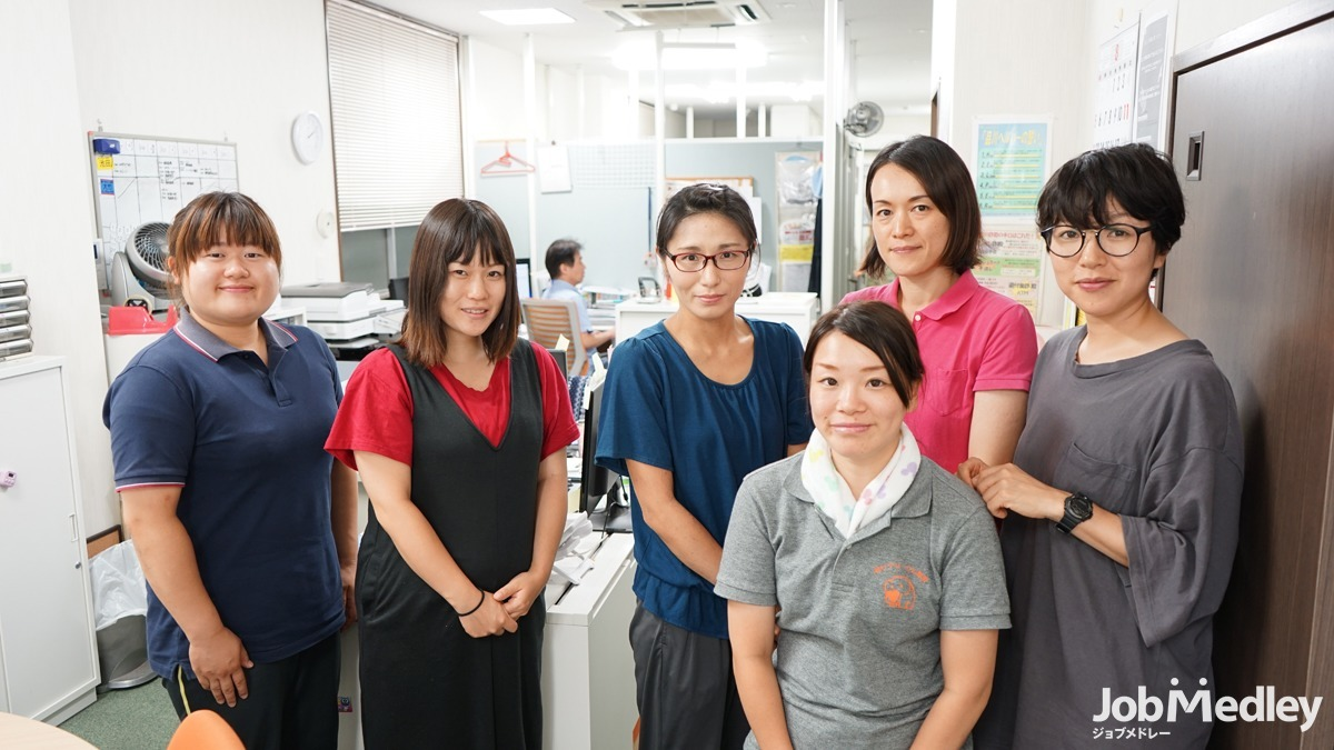 恵愛ヘルパーステーションの写真1枚目:福利厚生充実◎誰もが快適に働ける職場環境を整えています