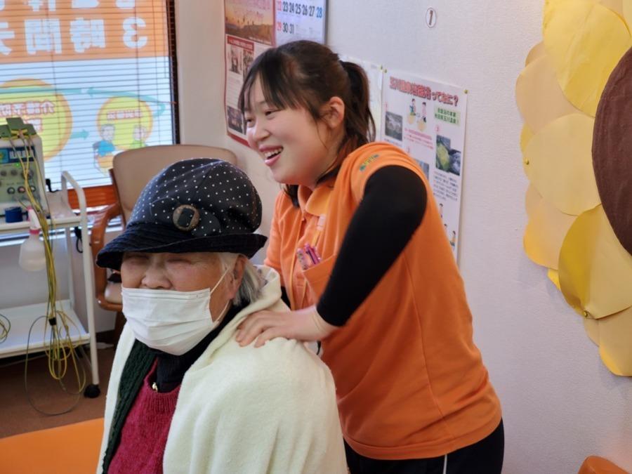 GENKINEXT西所沢(生活相談員の求人)の写真1枚目:御利用者様に体の調子が良くなったと言われることがやりがいです