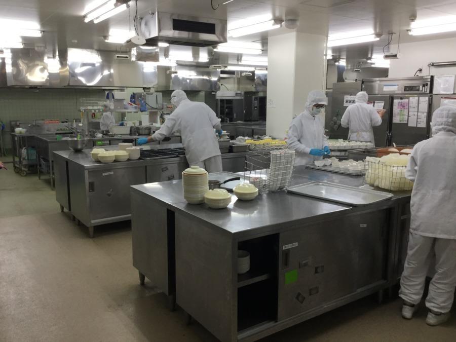 株式会社エポカフードサービス 西医療センター内の厨房(管理栄養士/栄養士の求人)の写真: