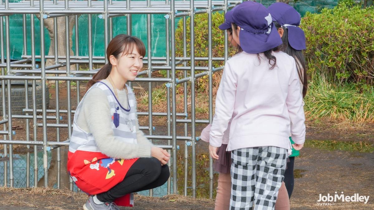 やまた幼稚園(幼稚園教諭の求人)の写真:主体的な行動ができる子どもを育てています