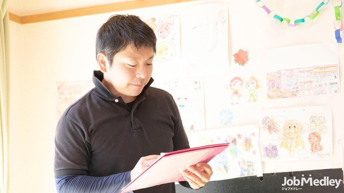 放課後等デイサービスまりも(保育士の求人)の写真2枚目:同性介助を行う児童デイサービスのお仕事です