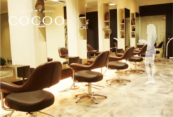 RISE HAIR BRAND cocoo 池田店の画像