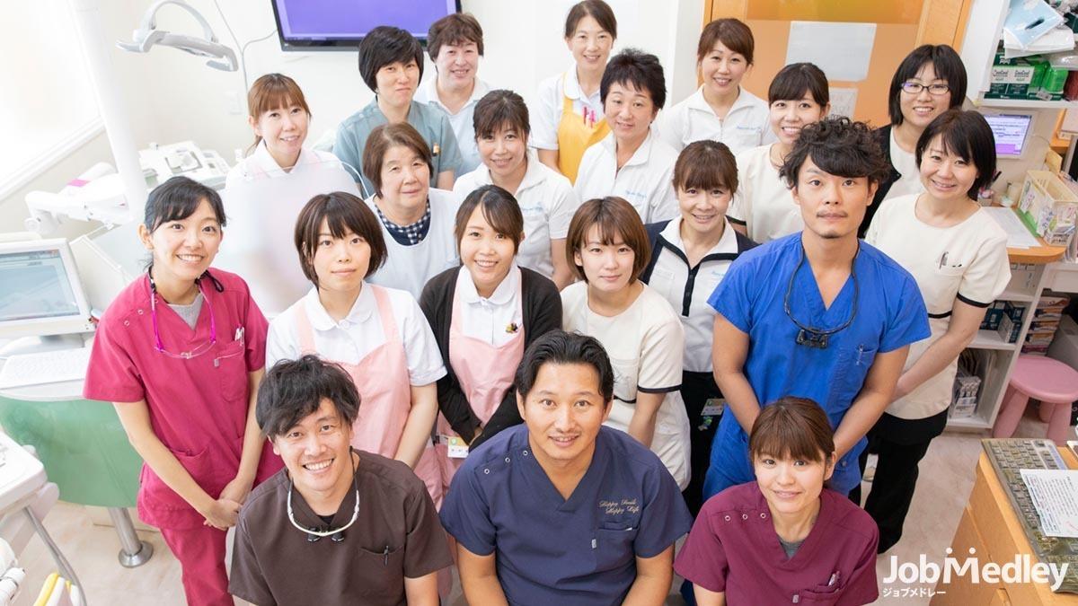医療法人社団 高歯会 ほんまる歯科医院(歯科衛生士の求人)の写真:充実の福利厚生が魅力の職場です