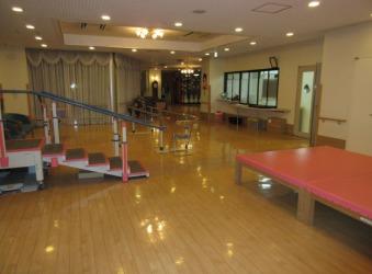 特別養護老人ホームコート・スマイル(介護職/ヘルパーの求人)の写真:機能訓練室です