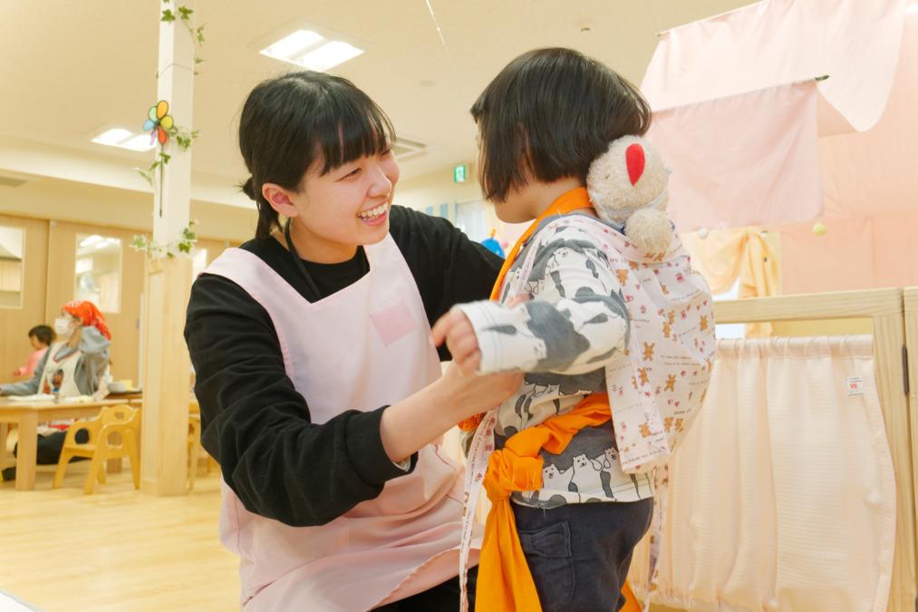 アスク愛子保育園(保育士の求人)の写真:こどもたちの笑顔のため安全安心を第一に考えています
