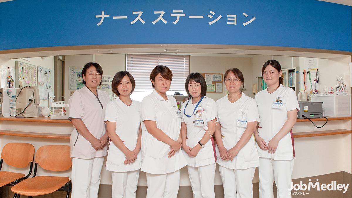 中村病院(医療事務/受付の求人)の写真3枚目:当院の看護師です