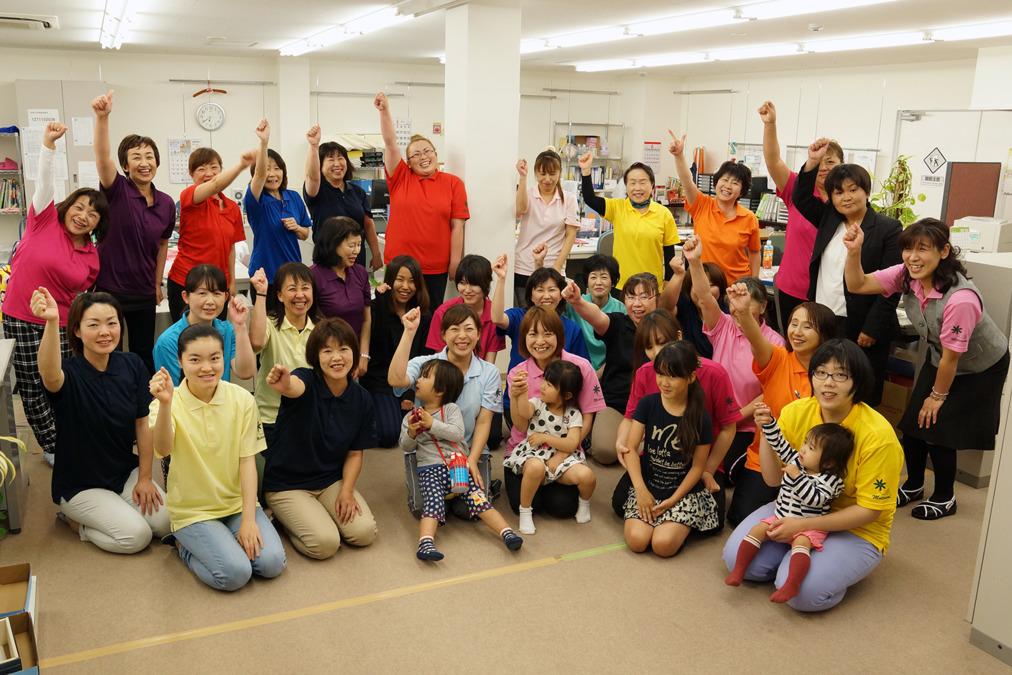 KT五井ヘルパーステーション(サービス提供責任者の求人)の写真:いつも笑顔で活気あふれる職場です