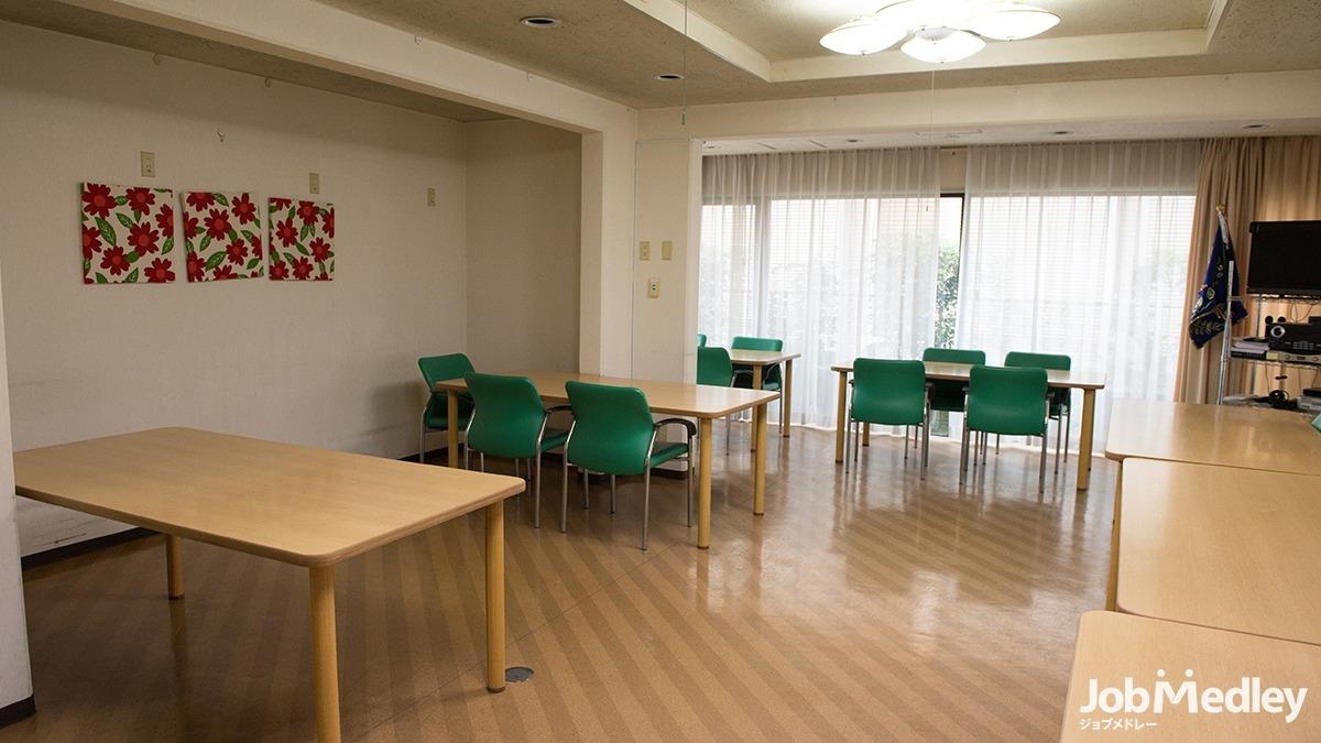エルダーホーム松戸の写真7枚目:24時間のサポート体制で、安心してお過ごしいただける環境です