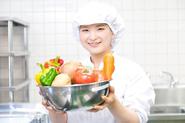 名阪食品株式会社 京田辺市立松井ケ丘小学校内の厨房の画像