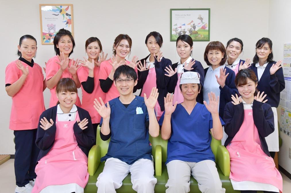 医療法人西川歯科医院の写真:スタッフ同士の仲が良い、あたたかな歯科医院です!