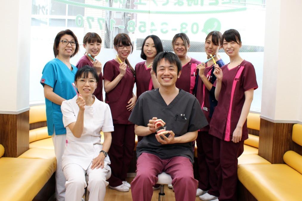 サンフラワービル歯科(歯科医師の求人)の写真:保険診療中心に予防歯科やインプラントなど自費治療にも注力