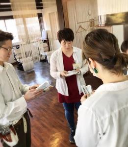 美容室Cure ひたちなか店(理容師の求人)の写真:朝礼の様子