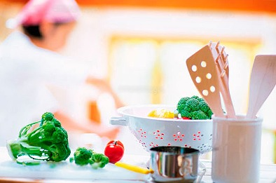 ヤマト食品株式会社 しまナーシングホーム中野内の厨房の画像