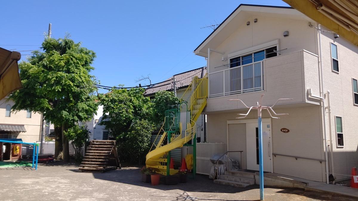 小規模保育施設 青い空の家の画像