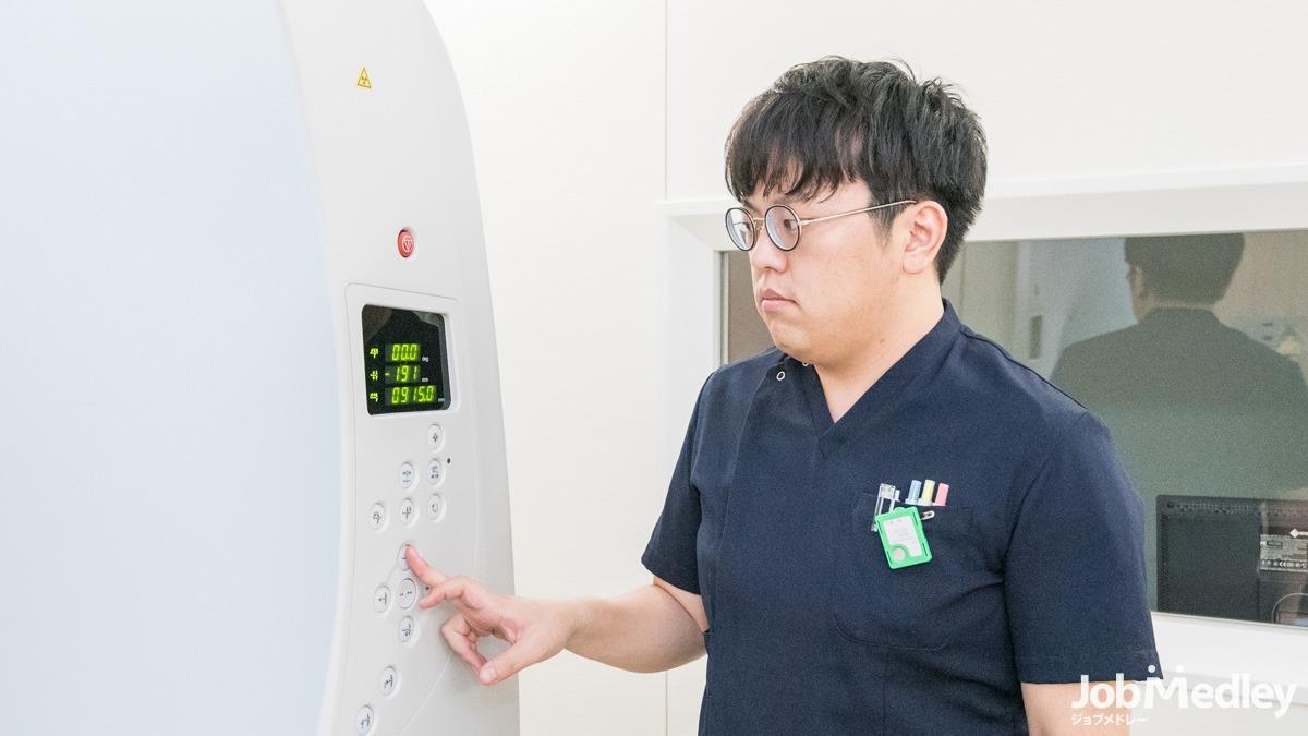 総合川崎臨港病院(診療放射線技師の求人)の写真:キャリアプランやライフステージを見据えて働ける職場です