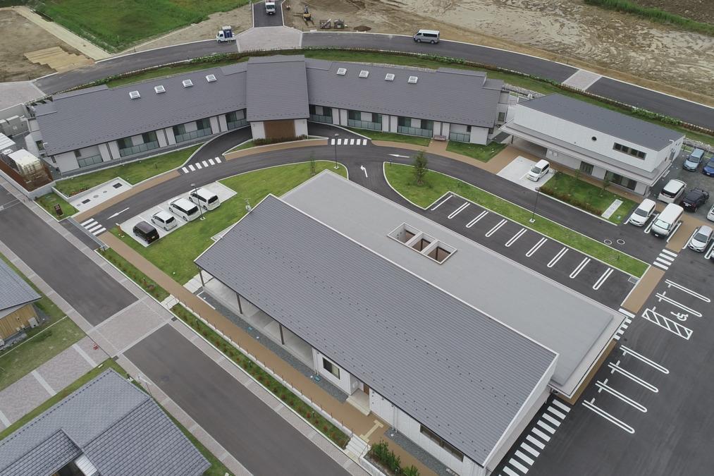 社会福祉法人おおくま福寿会(営業/管理部門/その他の求人)の写真1枚目:大熊町復興の拠点に建設された新しい施設です!