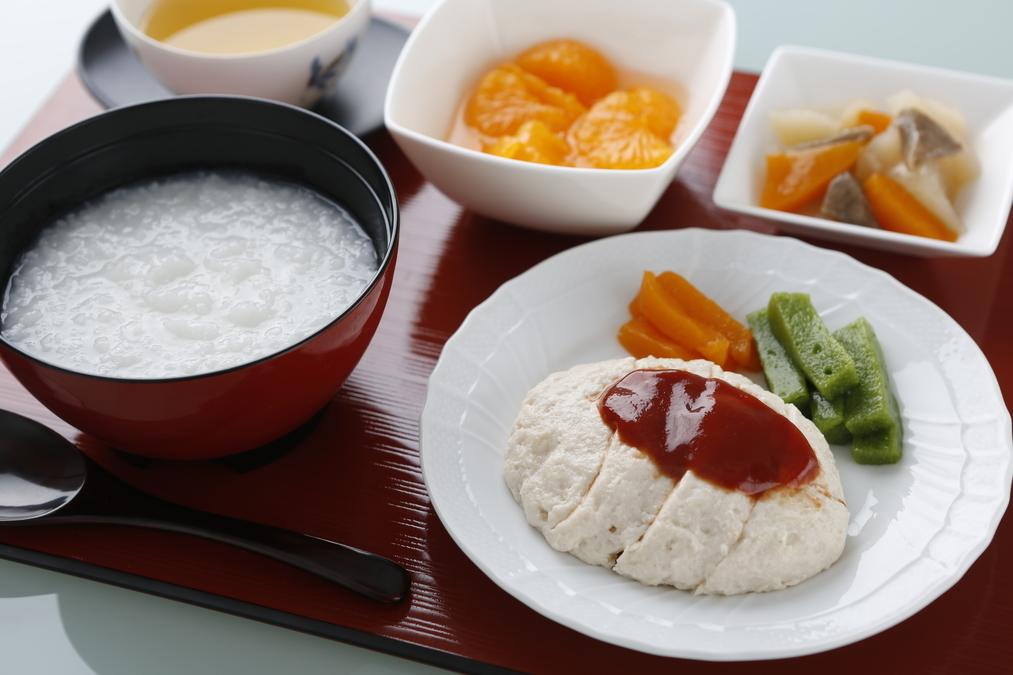 横浜病院(調理師/調理スタッフの求人)の写真:当院のお食事は、おいしさに自信があります!