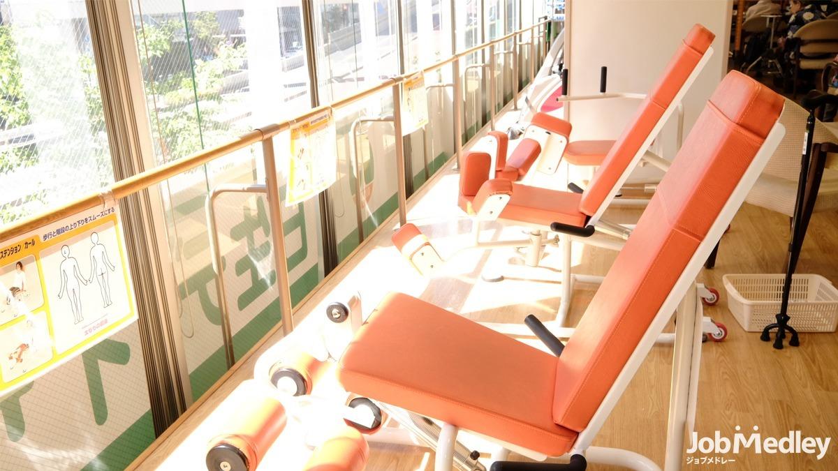 日生デイサービスセンター東尾久(介護職/ヘルパーの求人)の写真9枚目:利用者様がやりたいことを選べる環境です