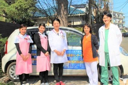 医療法人社団武内歯科医院(営業/管理部門/その他の求人)の写真:訪問スタッフ集合写真
