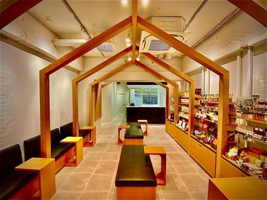 薬局ランタン 千歳烏山店(薬剤師の求人)の写真1枚目:カフェ風のおしゃれな薬局です