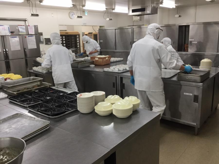 株式会社エポカフードサービス 賀茂精神医療センター内の厨房の画像
