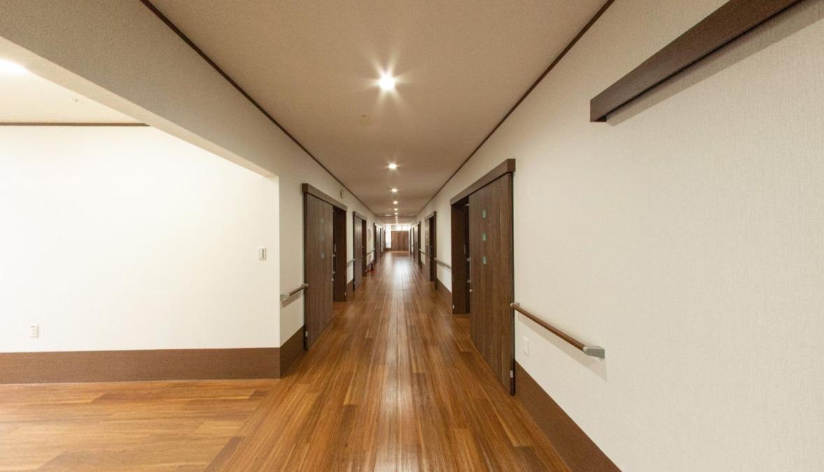 アットホーム七夢郡本【2018年11月01日オープン】の写真9枚目:廊下です。