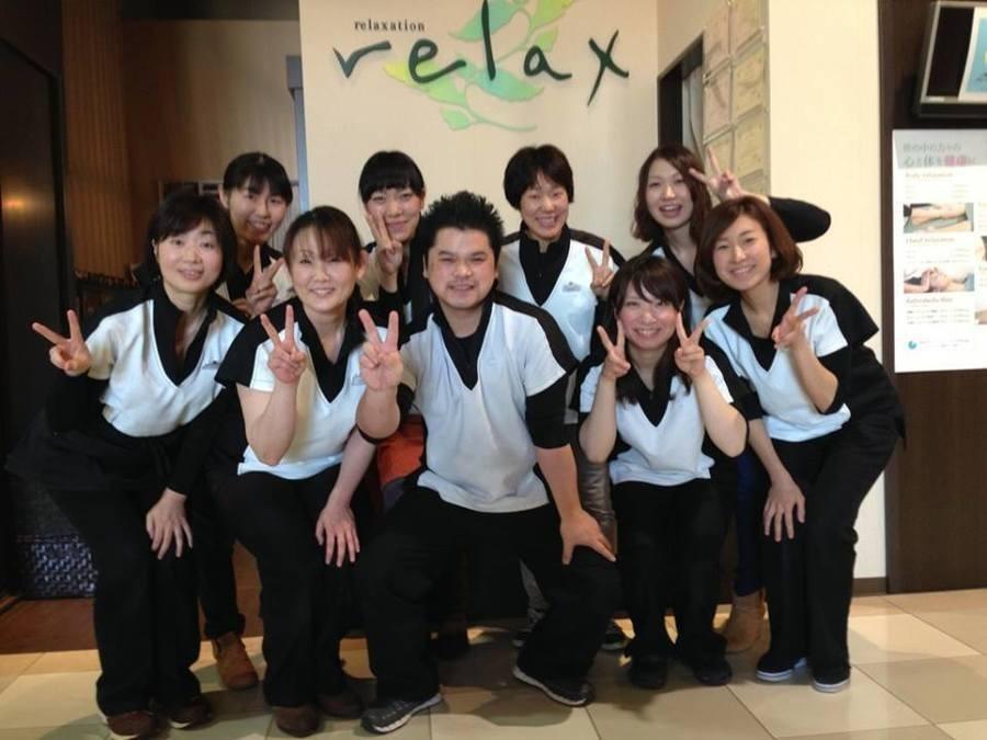 リラックスイオンモールかほく店(柔道整復師の求人)の写真:男女共幅広い年齢層のスタッフが活躍中!楽しい環境で経験やスキルを活かしませんか?