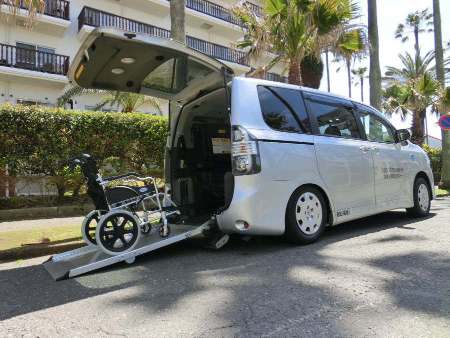 民間救急 ベイドリーム福祉&観光タクシー(介護タクシー/ドライバーの求人)の写真: