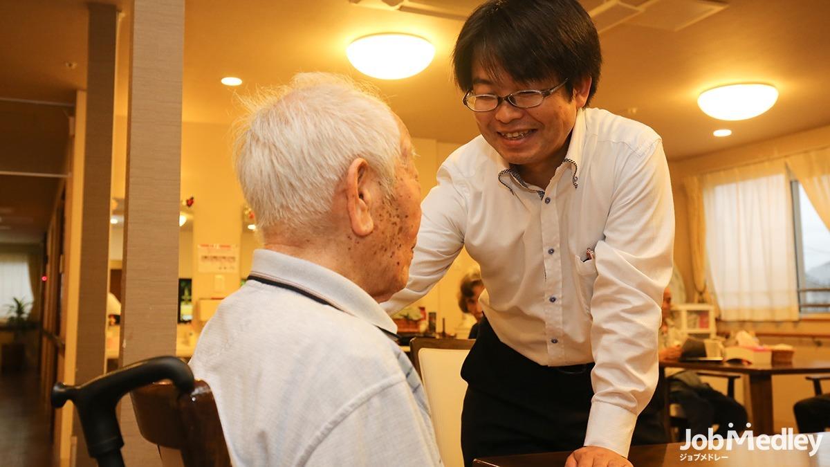 地域密着型介護付有料老人ホーム悠悠みらいの写真1枚目:充実した待遇で働きやすさ抜群の職場です