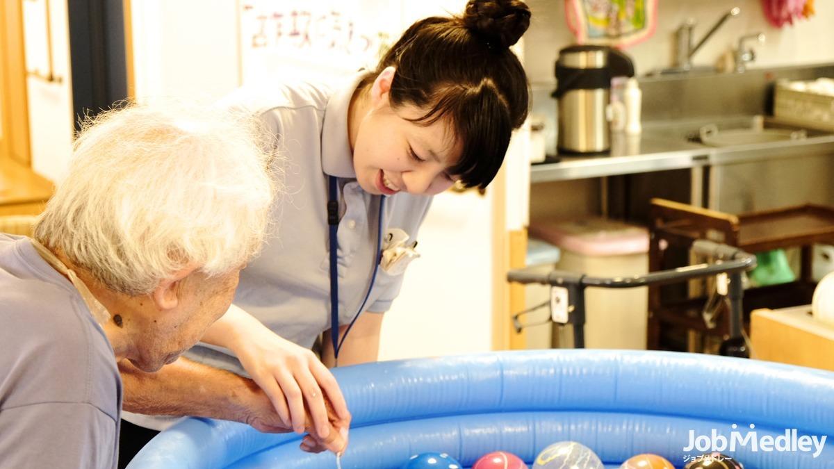 日生デイサービスセンター東尾久(介護職/ヘルパーの求人)の写真4枚目:さまざまな催し物を行っています