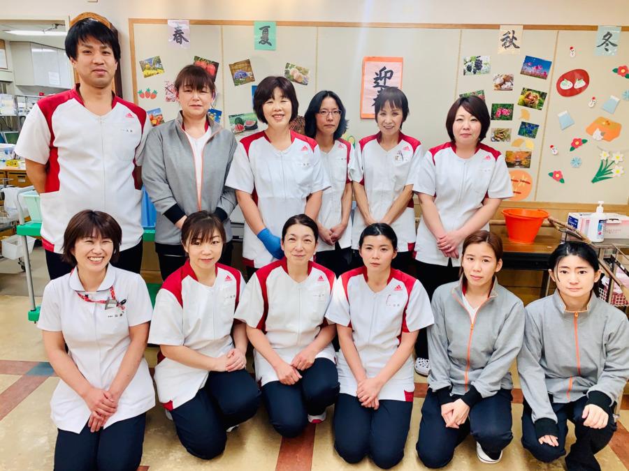 明石仁十病院(看護助手の求人)の写真:病棟看護補助スタッフ