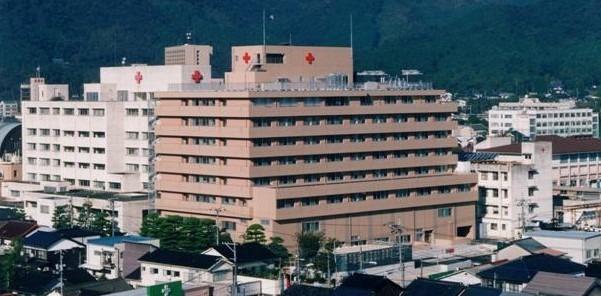綜合病院山口赤十字病院の画像