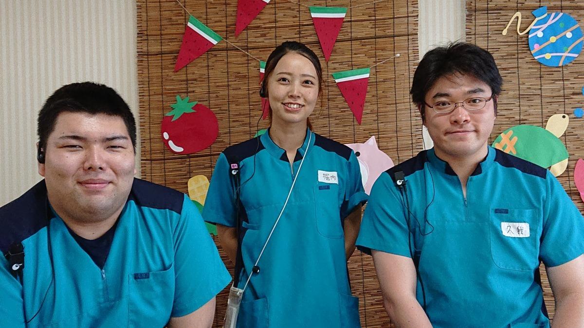 大田ナーシングホーム 翔裕園(看護師/准看護師の求人)の写真1枚目:若手職員が多く、元気いっぱいです