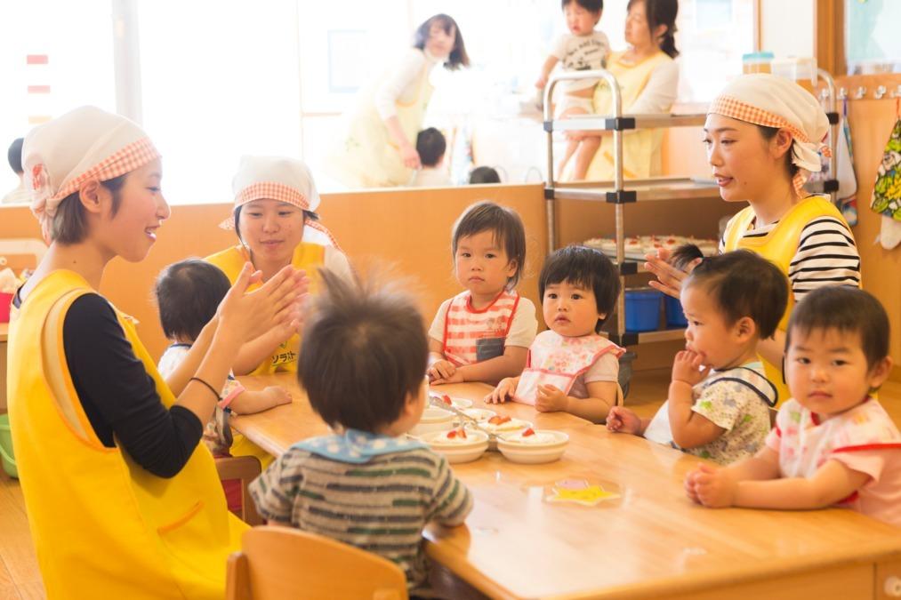 ソラスト府中【2020年04月オープン予定】(管理栄養士/栄養士の求人)の写真:手作り給食は園児にも大人気♪