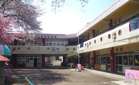 座間孝道幼稚園の画像