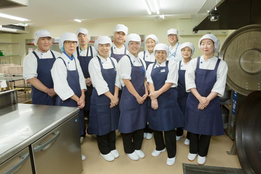 富士産業株式会社 本郷中央病院内の厨房の画像