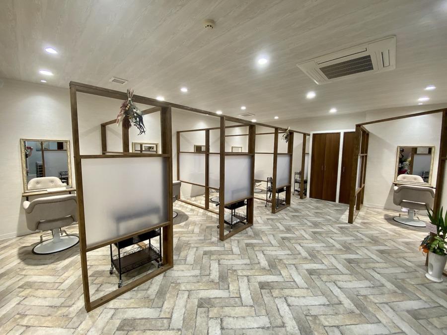 ponte 福岡西店【2020年10月09日オープン】(美容師の求人)の写真:
