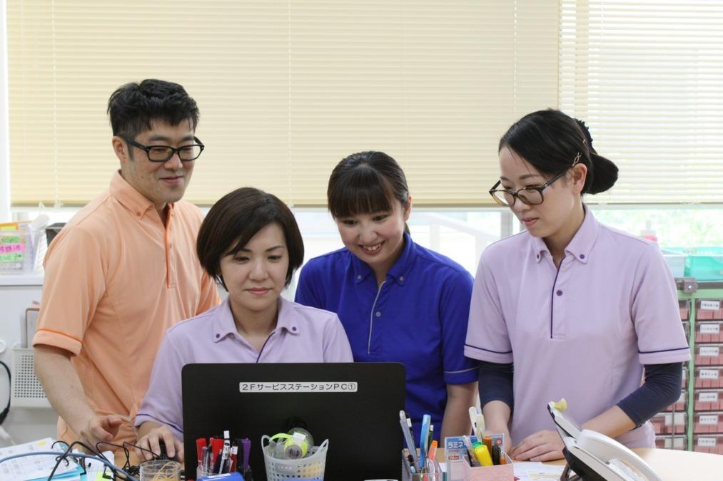 医療法人社団川満恵光会 介護老人保健施設みんなの笑顔の画像