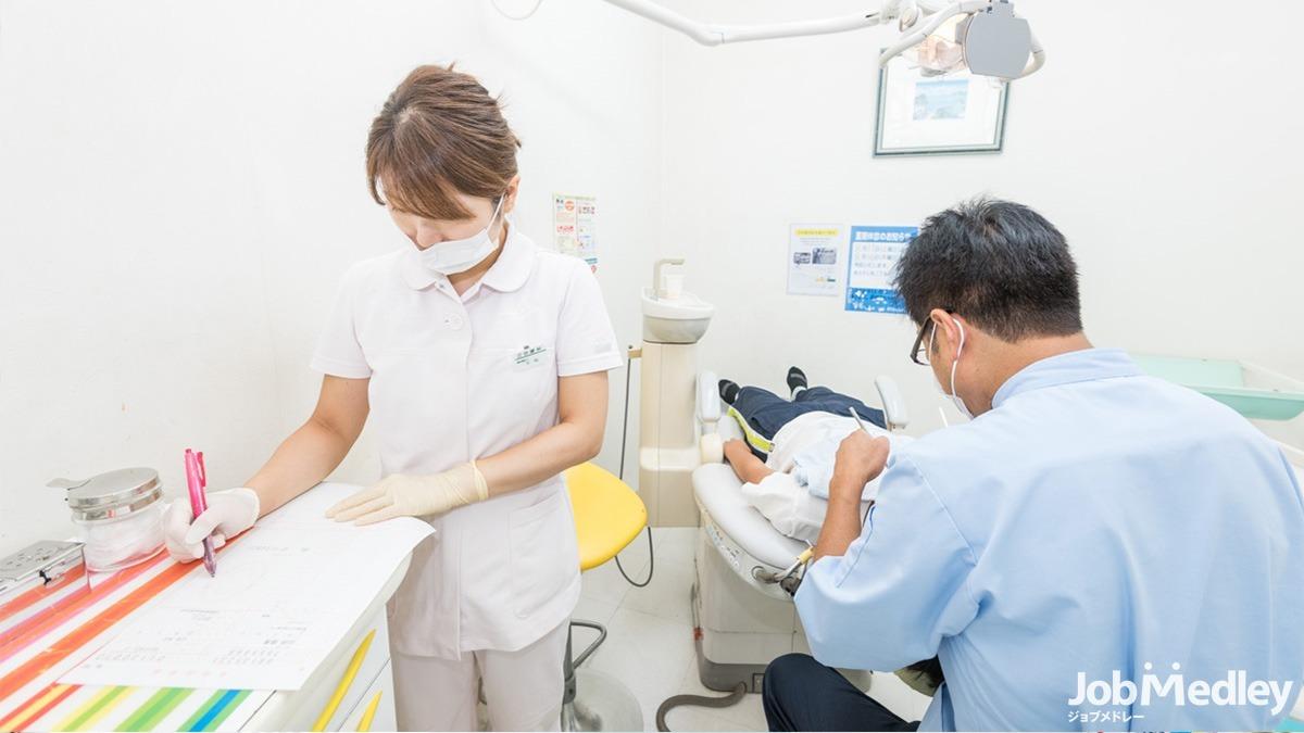 医療法人社団 葵葉会 立田歯科の写真1枚目:スタッフ同士連携して仕事ができる職場です