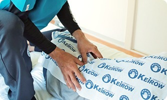 KEiROW 府中ステーション(鍼灸師の求人)の写真1枚目:関節や筋肉の動きをスムーズにし、利用者様の身体機能の維持や向上の手助けをします