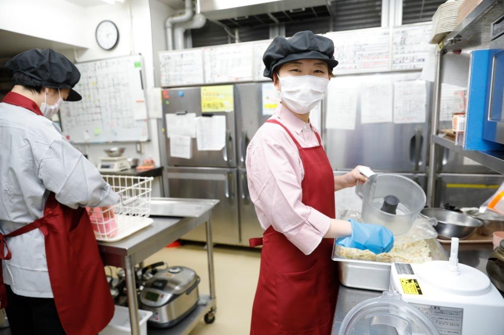 株式会社エポカフードサービス さくらコンフォート本郷内の厨房の画像