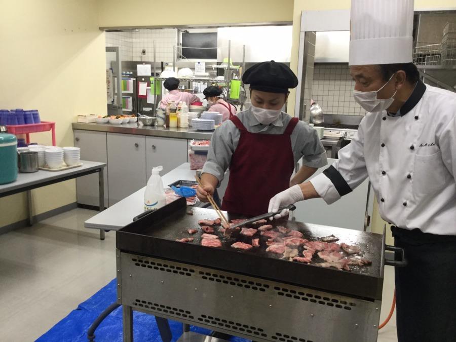 株式会社エポカフードサービス 三矢寮内の厨房の画像