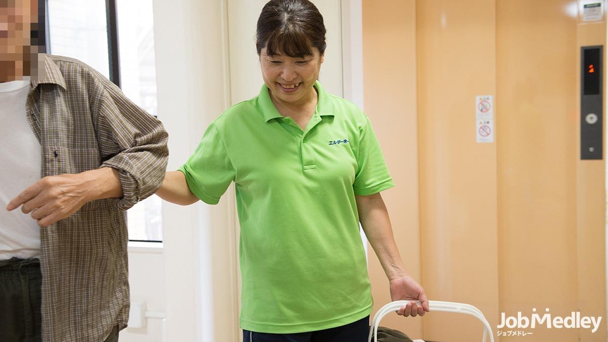 エルダーホーム松戸の写真3枚目:無資格の方は働きながら当社グループ内のスクールで資格を取得することができます