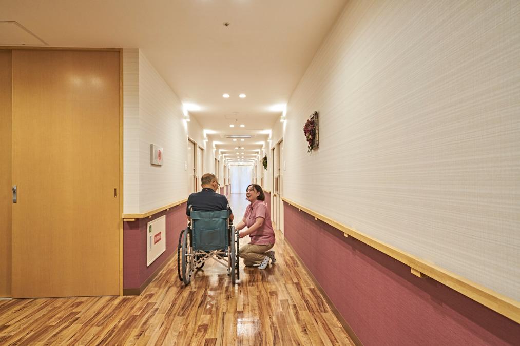 サービス付き高齢者向け住宅 やわみどり-柔緑-(介護職/ヘルパーの求人)の写真1枚目: