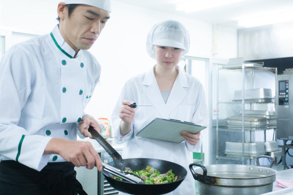 株式会社塩梅 安藤病院内の厨房の画像